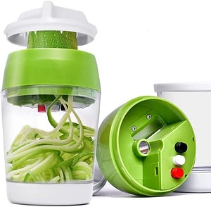 5 in1 Handheld Spiralizer Vegetable Slicer Adjustable