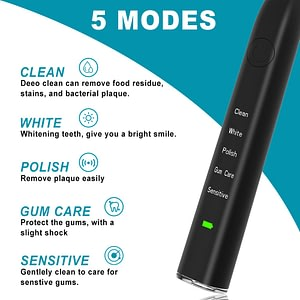 Electric Toothbrush IPX7 Waterproof