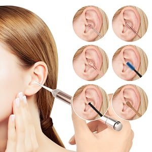 Stainless Steel Ear Spoon Light Ear Wax