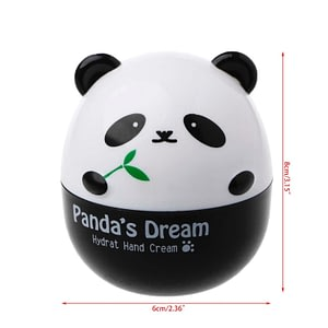 Panda Shape Hand Cream Moisturizing