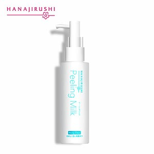 HANAJIRUSHI Facial Body Exfoliator Cream Peeling Milk