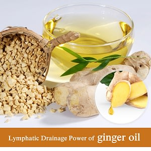 Therapy Lymphatic Drainage Ginger Oil Natural