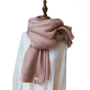 Pashmina Shawls Female Knitted Wool Long Scarf