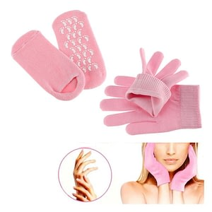 Silicon Moisturising Socks and Gloves Gel Inner