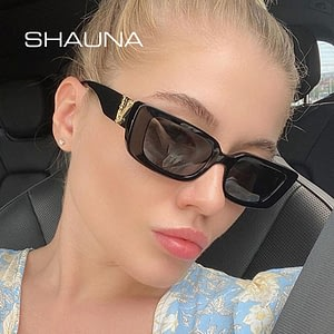 Retro Small Rectangle Sunglasses Candy