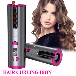 Automatic Hair Curler Auto Ceramic Wireless