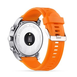 Smart Watch Dual Time Waterproof IP67 Heart Rate Monitor