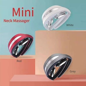 Smart neck foldable shoulder massager therapy