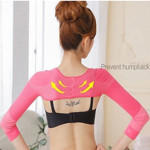 Women Arm Shaper Back Shoulder Corrector Slimming Underwear Hot Shapers Arm Control Shapewear Breathable