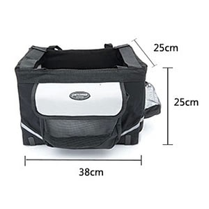 Portable Pet dog bicycle carrier bag basket Puppy Dog Cat Travel bike carrier Seat bag for small dog Products Travel Accessories