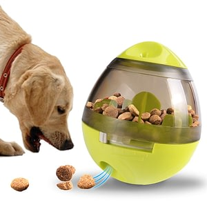 Flowgogo Pet Toy Ball IQ Treat Ball Interactive Food Dispensing Dog Toy-in Dog Toys from Home