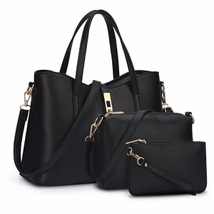 Women Bag Top-Handle Bags Female Famous Brand Women Messenger Bags Handbag Set PU Leather Composite Bag