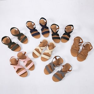 Gladiator Sandals Summer Sandals Women Casual Shoes Female Women Flat Rome Feminina Sandals Soft Bottom Sandalia