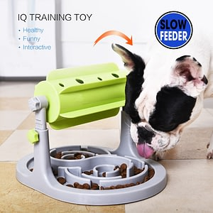 Drop Shipping Food Treated Dog Toys Slower Feeder  Bowl