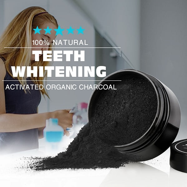 Tooth Natural Activated Charcoal Teeth Whitening