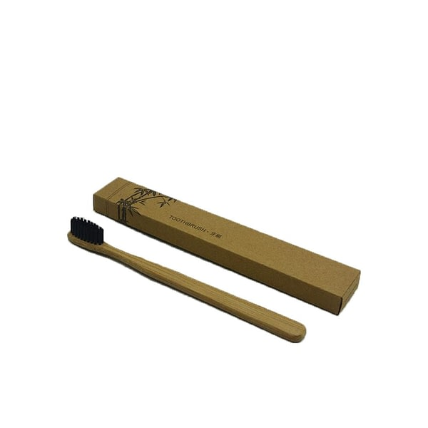 Wood Toothbrush Bamboo Fibre Wooden
