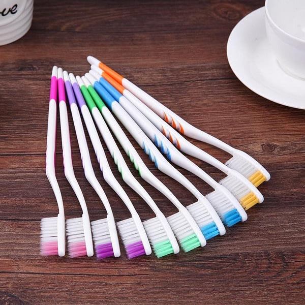 Double Ultra Soft Toothbrush Bamboo Charcoal