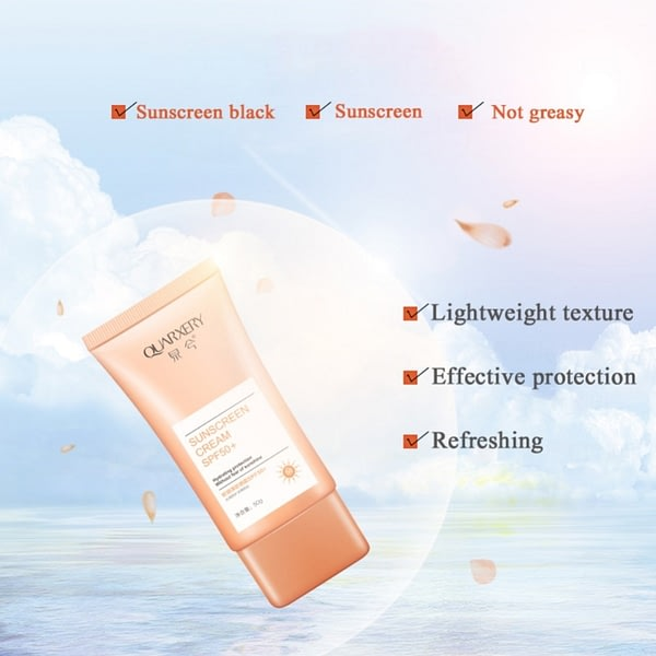 Ultraviolet Rays Waterproof Sunscreen Cream For Face