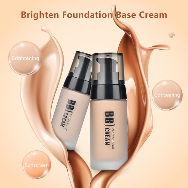 BB Cream Foundation Wheat Natural Oil Control