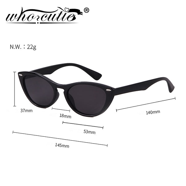 2021 Vintage Cat Eye Sunglasses Women