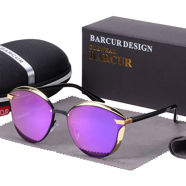 Fashion Polarized Women Sunglasses Round