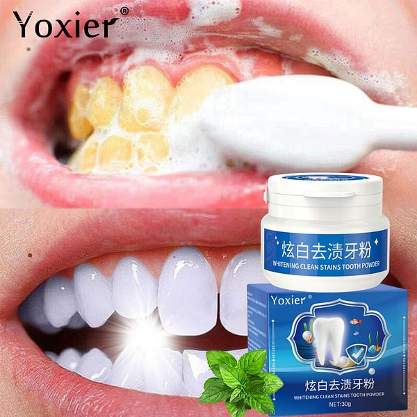 Whitening Clean Stains Tooth Powder 30g