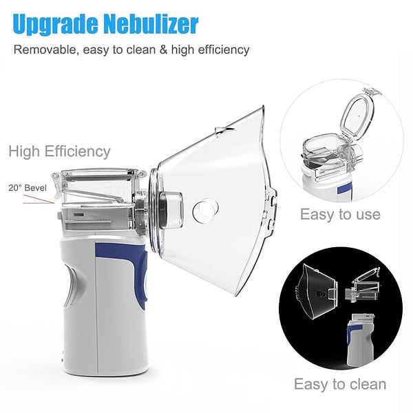 Inhale Nebulizer Mini Portable Steaming For Baby