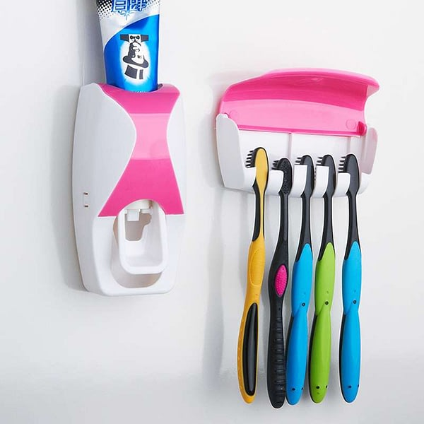 Automatic Plastic Lazy Toothpaste Dispenser