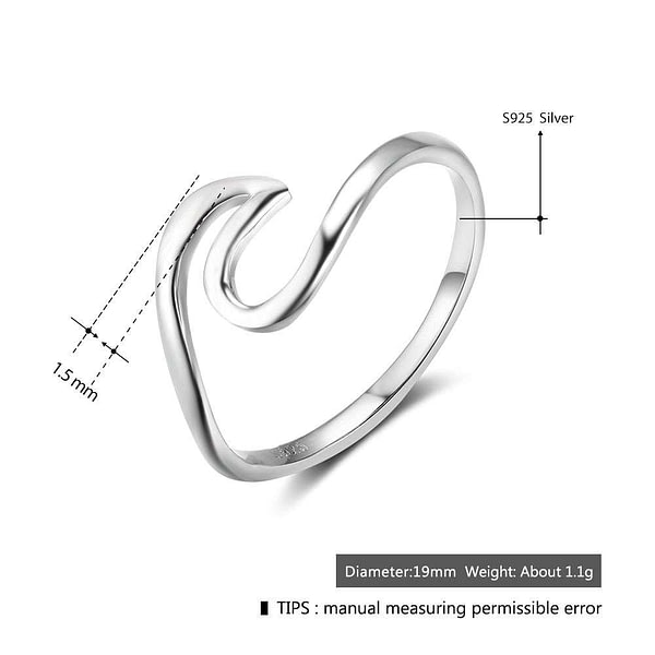 Female Finger Ring Wedding Bands Fine Jewelry
