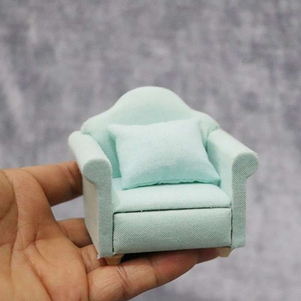 Dollhouse Sofa Miniature House Living Room