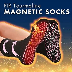 MAGNETIC SOCKS SELF HEATING TOURMALINE