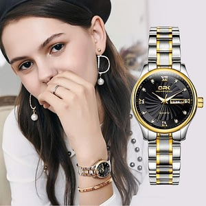 Womens Watches Stainless Steel Waterproof
