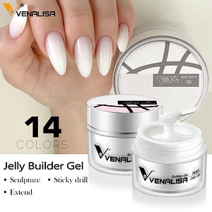 Hard jelly builder nail extension gel nail
