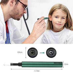Wireless WiFi Ear Pick Otoscope Camera
