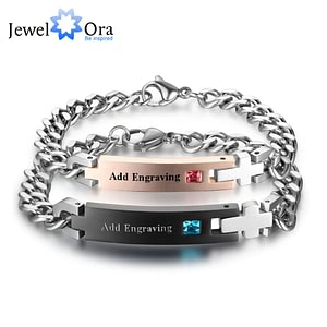 Personalized Engrave Name Bracelet Lovers