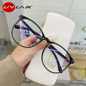 Glasses Frame Women Men Anti Blue Light