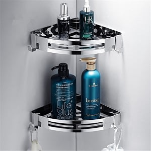 3 Layers Corner Shower Shelf Bathroom Shower