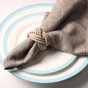Natural Jute Napkin Ring Rope Table Decoration (1pc)