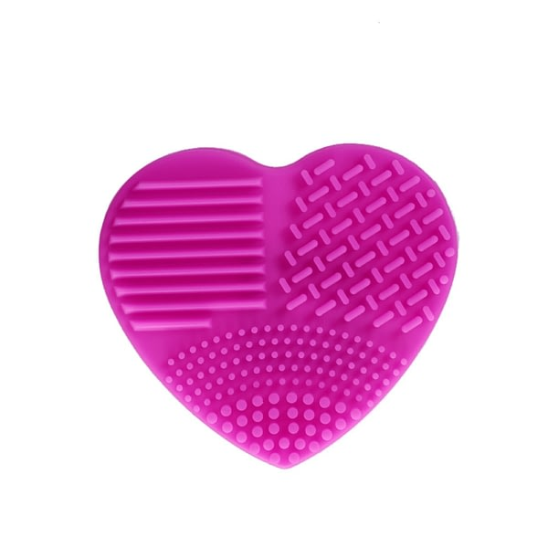Heart Shape Silicone Makeup Brush Cleaner