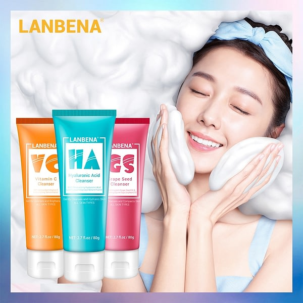 Facial Cleanser Face Wash Foam Cleansing Oil Control