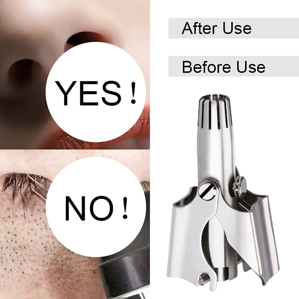 Nose Trimmer Stainless Steel Manual Trimmer