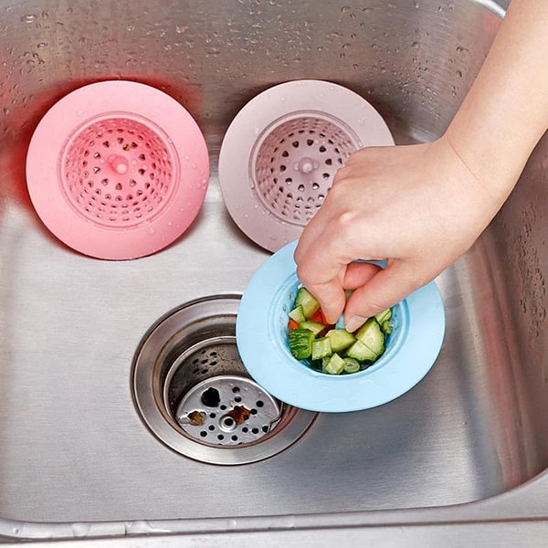 Silicone Sink Filter Water Stopper Drain