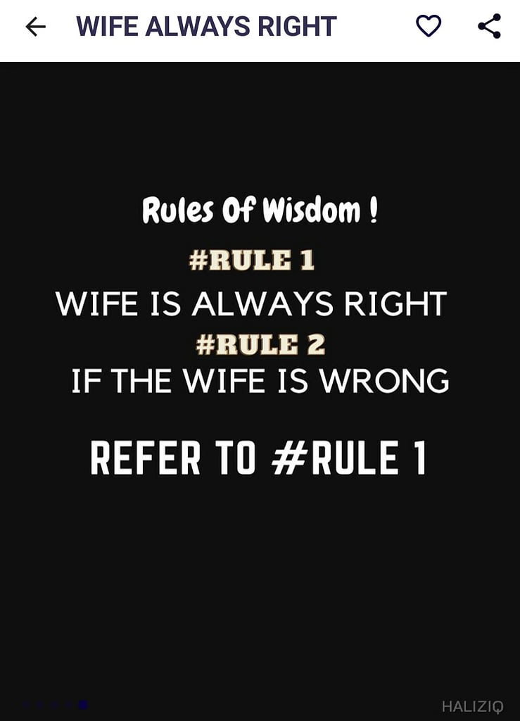 T-SHIRT WIFE ALWAYS RIGHT